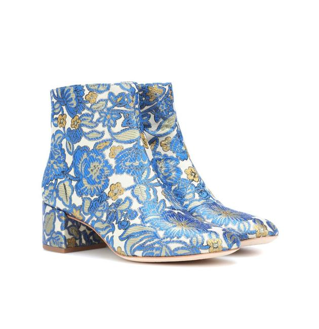 Item - Blue/Cream/Gold Shelby Boots/Booties Size US 9 Regular (M, B)