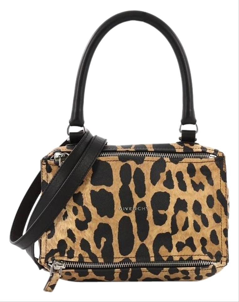 ed12018d77d8 G by Giuliana Givenchy Pandora Printed Small Cheetah Leather Satchel ...