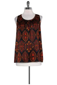 Marc by Marc Jacobs Peacock Print Top brown