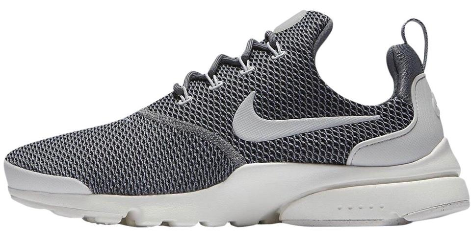 new product 7fcea 2a458 Nike Grey Womens Presto Fly Sneakers