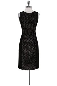 Nougat London short dress Black Broderie Anglaise on Tradesy