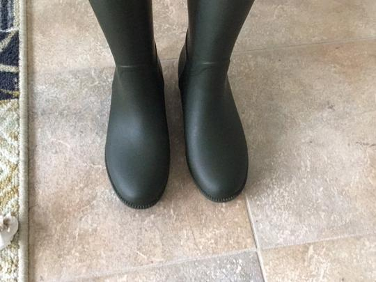 Tory Burch green and brown Boots Image 1