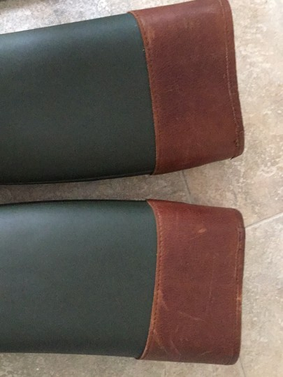 Tory Burch green and brown Boots Image 7