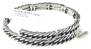 Alex and Ani Eve Wrap Expandable Bracelet V16W47RS Silver-tone