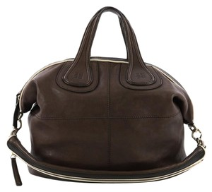 Givenchy Leather Satchel in brown