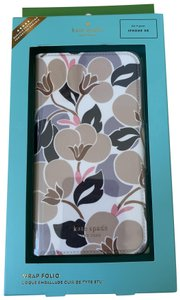 Kate Spade iPhone XR -- NWT KATE SPADE Breezy Floral Leather WRAP FOLIO CASE