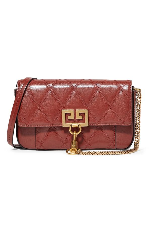 8ba9e12c08b Givenchy Shoulder Pocket Mini Quilted Leather Cross Body Bag - Tradesy