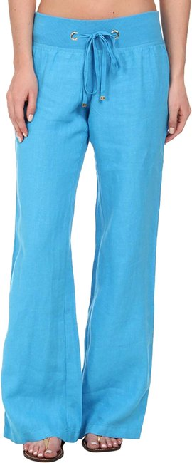 Preload https://img-static.tradesy.com/item/25217601/lilly-pulitzer-turquoise-linen-beach-pants-size-6-s-28-0-1-650-650.jpg