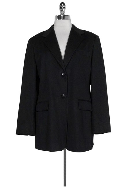 Max Mara Wool Black Jacket Image 0