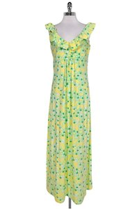 Yellow Maxi Dress by Lilly Pulitzer Floral Maxi