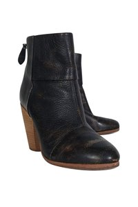 Rag & Bone Distressed Stacked brown Boots