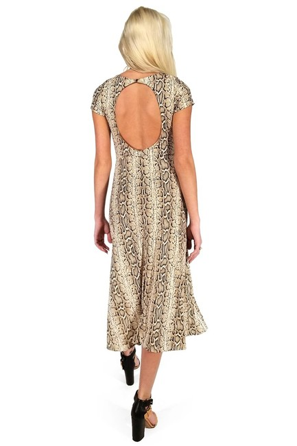 Current Boutique short dress brown Snake My Breath Away on Tradesy Image 2