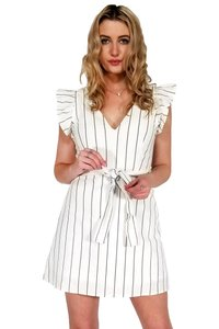 Current Boutique short dress white Peaceful Breezy Feeling on Tradesy
