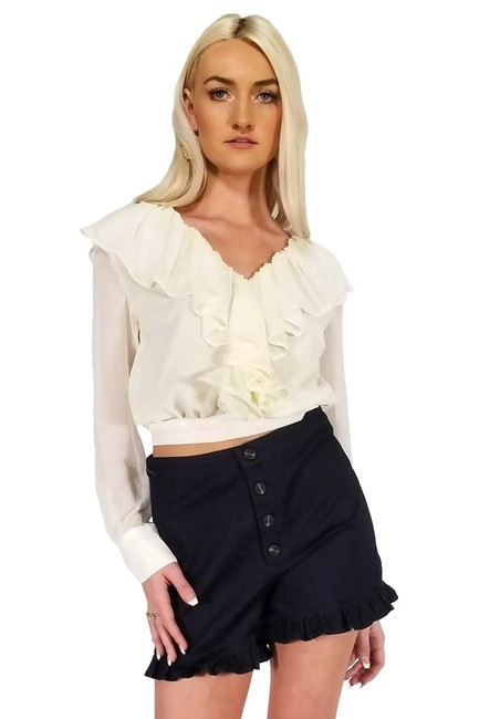 Preload https://img-static.tradesy.com/item/25217838/cream-blouse-size-4-s-0-0-650-650.jpg