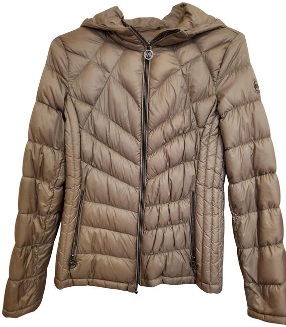 Item - Taupe Packable Down Puffer S Coat Size 4 (S)