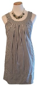 Lands' End short dress Blue & white. on Tradesy