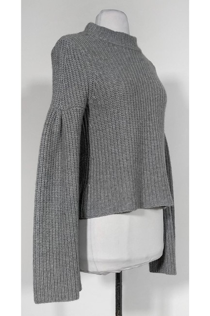 Autumn Cashmere Grey Knit Sweater Image 1