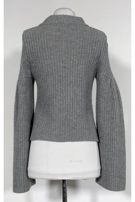 Autumn Cashmere Grey Knit Sweater Image 2
