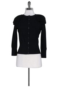 Karen Millen Ruffled Shoulders Cardigan