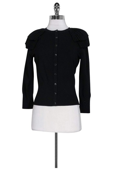 Karen Millen Ruffled Shoulders Cardigan Image 0