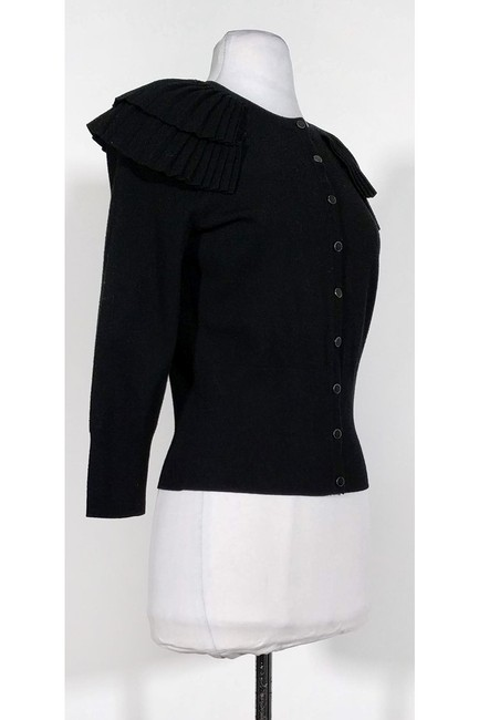 Karen Millen Ruffled Shoulders Cardigan Image 1
