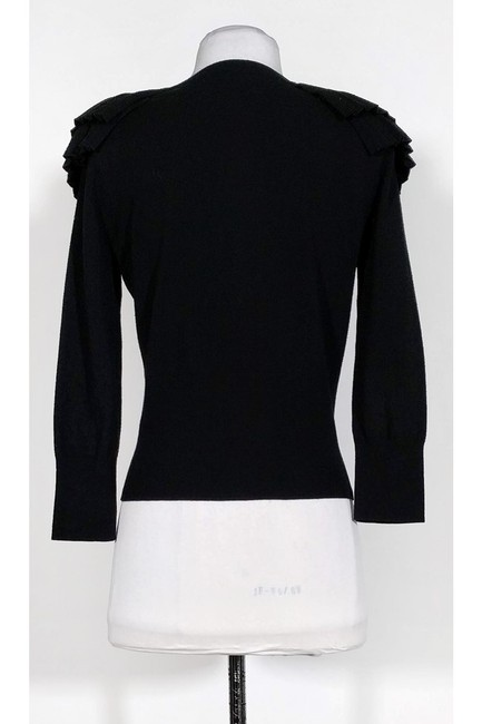 Karen Millen Ruffled Shoulders Cardigan Image 2