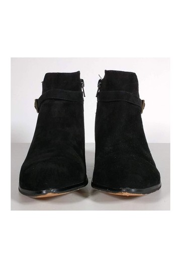 Barneys New York Suede Ankle Black Boots Image 1