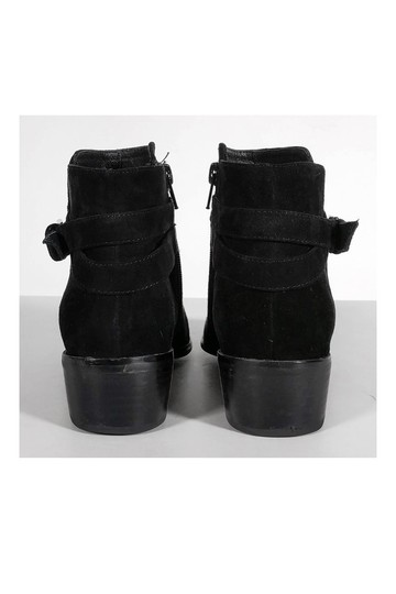 Barneys New York Suede Ankle Black Boots Image 3