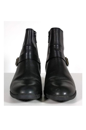 Cole Haan Leather Ankle Black Boots Image 1