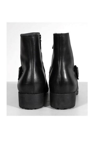 Cole Haan Leather Ankle Black Boots Image 3