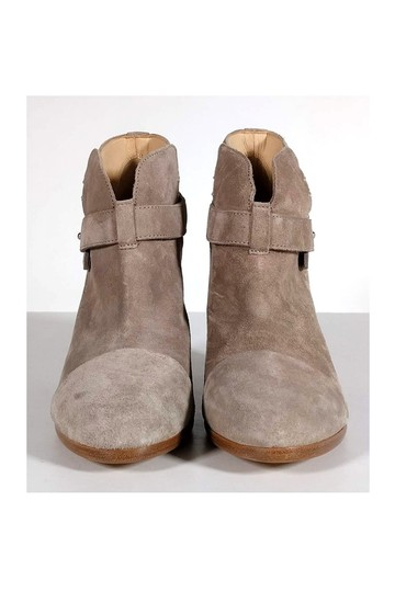 Rag & Bone Stone Grey Harrow Suede Boots Image 1