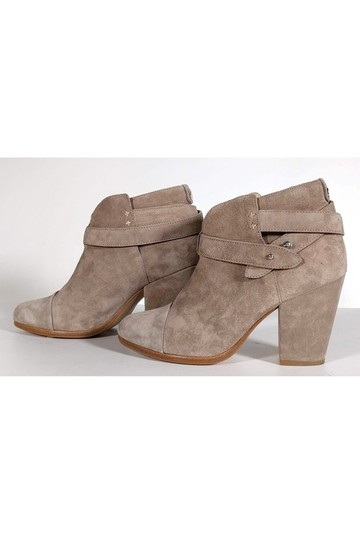 Rag & Bone Stone Grey Harrow Suede Boots Image 2
