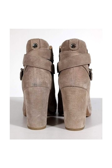 Rag & Bone Stone Grey Harrow Suede Boots Image 3