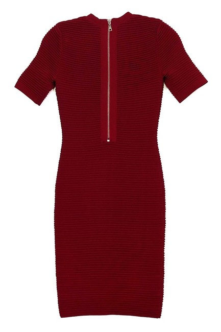 Torn by Ronny Kobo Red Short Casual Dress Size 0 (XS) Torn by Ronny Kobo Red Short Casual Dress Size 0 (XS) Image 2