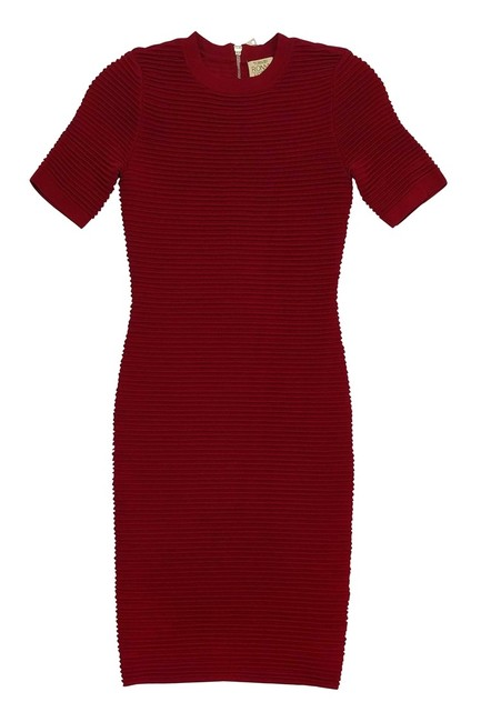 Torn by Ronny Kobo Red Short Casual Dress Size 0 (XS) Torn by Ronny Kobo Red Short Casual Dress Size 0 (XS) Image 3