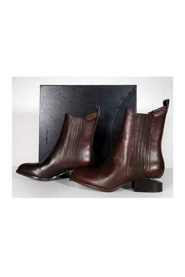 Alexander Wang Anouck Leather Chelsea brown Boots Image 2