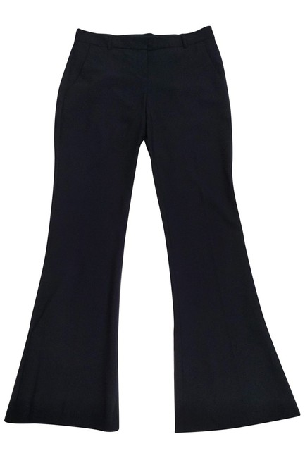 Theory Navy Tailored Trouser Pants Image 2