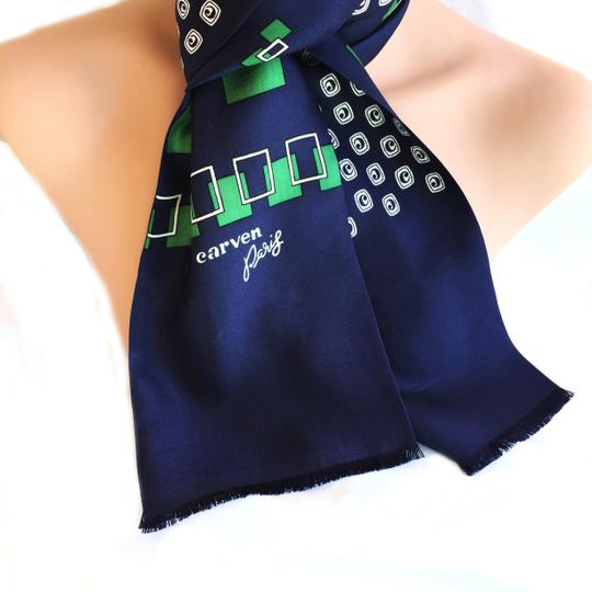 Carven CARVEN PARIS DOUBLE SIDED SILK SCARF Image 1