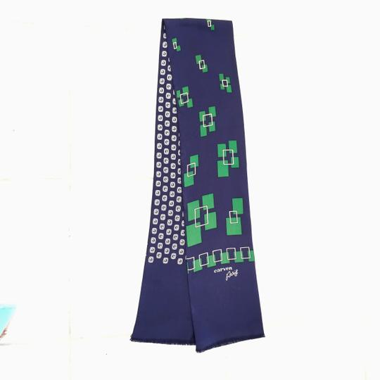 Carven CARVEN PARIS DOUBLE SIDED SILK SCARF Image 4