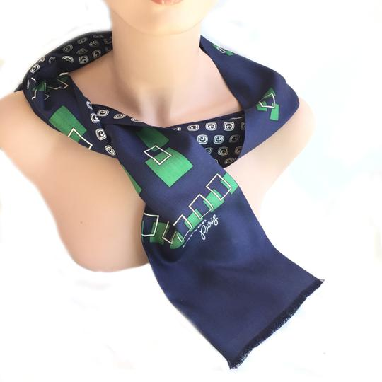 Carven CARVEN PARIS DOUBLE SIDED SILK SCARF Image 5