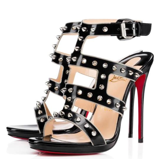 Preload https://img-static.tradesy.com/item/25219118/christian-louboutin-black-sexystrapi-jazz-calf-stud-spike-heels-pumps-size-eu-37-approx-us-7-narrow-0-0-540-540.jpg