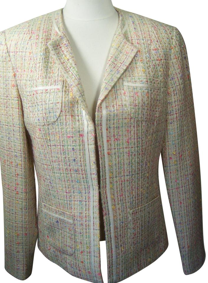 89b27db4c Multi Color Skirt Suit Size 8 (M) - Tradesy