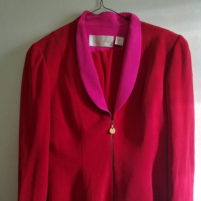 Item - Red and Pink For Saks Fifth Ave Pant Suit Size 6 (S)
