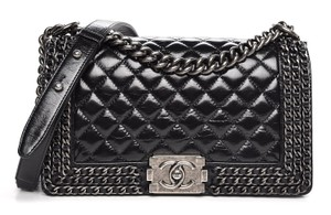 Chanel Box Card Dust Cover Store Tag Cross Body Bag