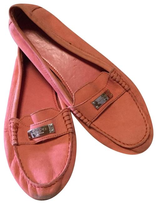 Item - Pink Fredrica Pebbled Leather Loafers Flats Size US 9.5 Regular (M, B)