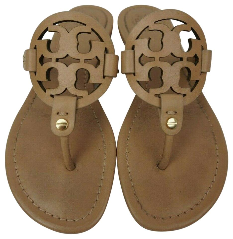 a109302ab84d Tory Burch Makeup Miller Flip Flops Leather Sandals Size US 5.5 ...
