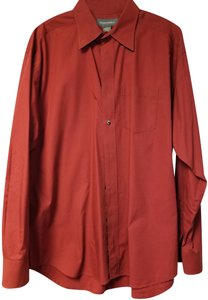 Banana Republic Button Down Shirt Cranberry