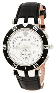 6bc711e5e9c Versace SIlver White Stainless Steel V Race 23C Women s Wristwatch ...