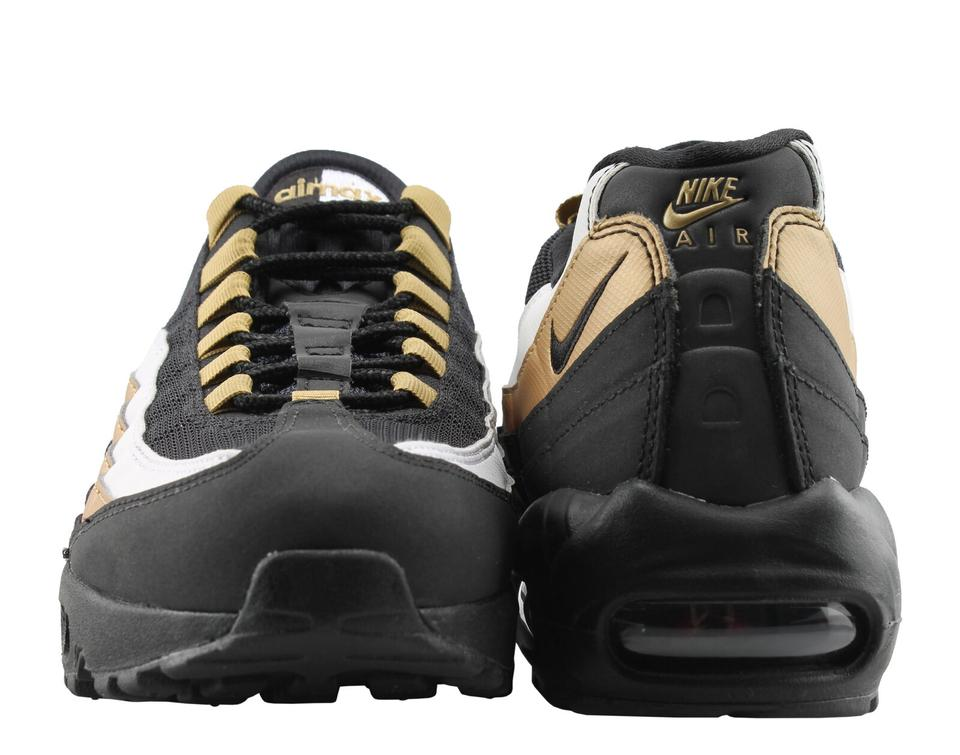 3954e95408 Nike Air Max 95 Og Black Metallic Gold At2865-002 Men 6.5 Wmn ...