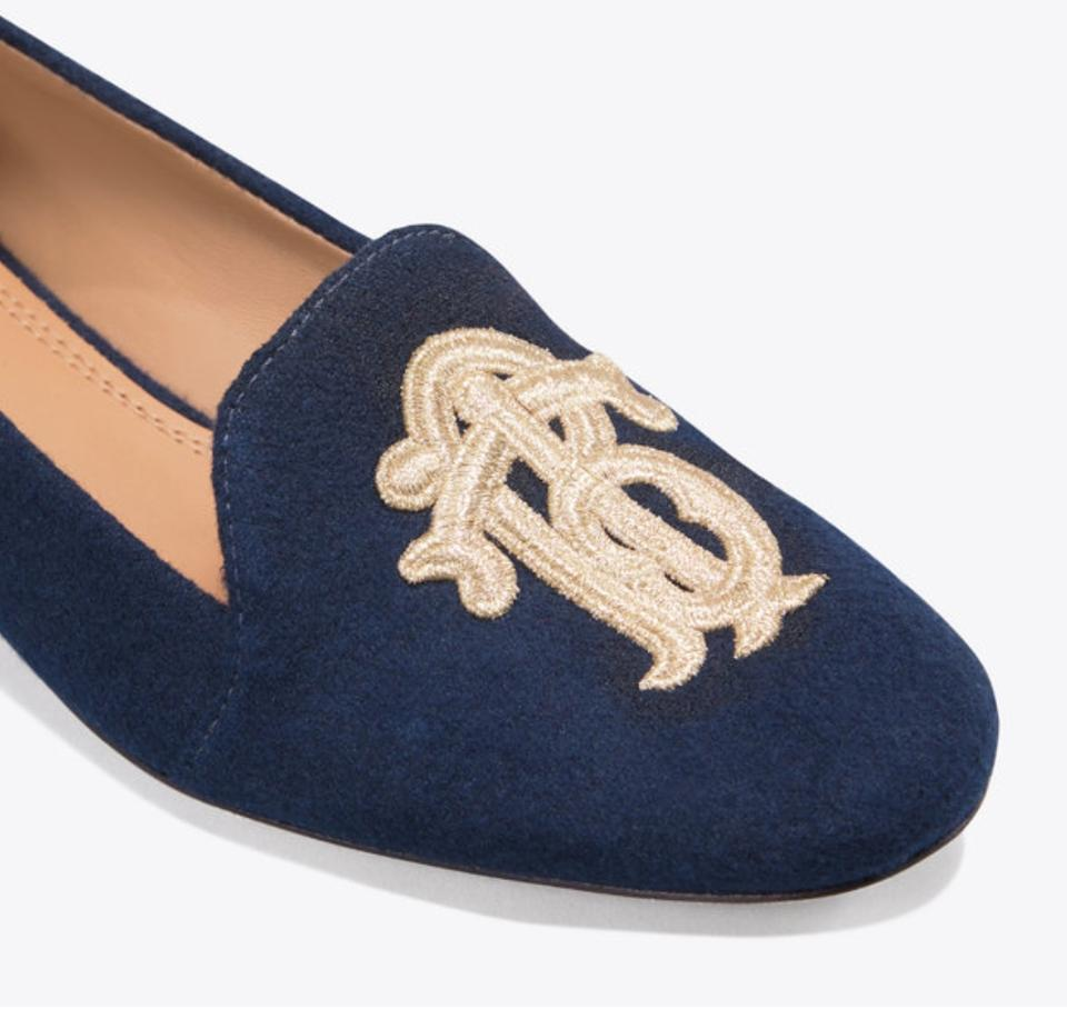 6e4fdb4f5 Tory Burch Perfect Navy Antonia Loafers Formal Shoes Size US 7 ...